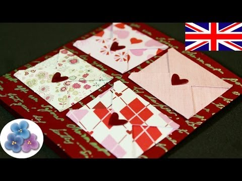 How to Make Love Cards DIY Valentines Day Card for Valentines Day – Valentine Day Love Cards