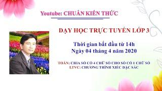 Chuẩn kiến thức live stream on Youtube.com