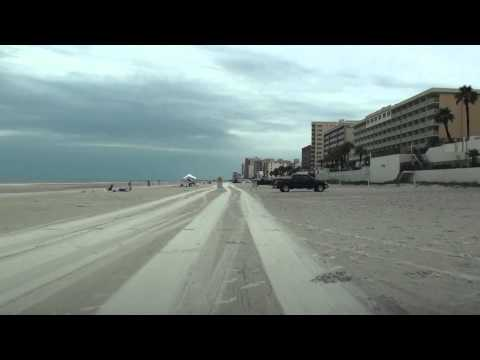 DRIVING ON SAND IN DAYTONA BEACH, FL