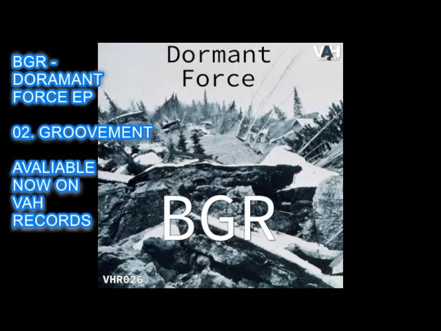 BGR - GROOVEMENT - HOUSE - TECHNO