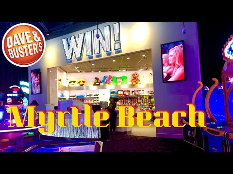 Dave & Busters Arcade And Restaurant At Broadway At The Beach In Myrtle Beach    Attractions