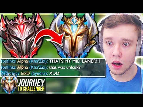 WAIT.. CHALLENGER IS THIS CLOSE ALREADY????? - Journey To Challenger | League of Legends thumbnail