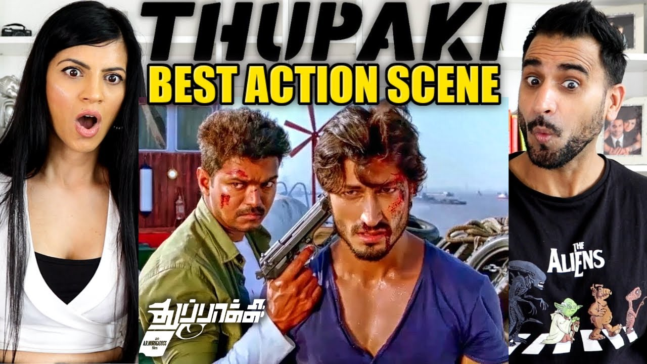 Download INDIAN SOLDIER NEVER ON HOLIDAY | Thalapathy Vijay & Vidyut Jamwal - BEST ACTION SCENE  REACTION!