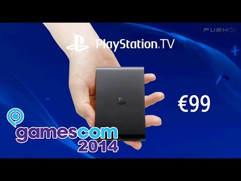 GamesCom 2014: PlayStation TV Launching In Europe For €99 [PlayStation Conference]