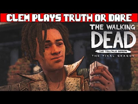 clementine-&-the-group-plays-truth-or-dare---the-walking-dead-telltale-season-4