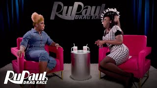 The Pit Stop S12 E6 | Monét X Change & Bob The Drag Queen Talk Snatch Game | RuPaul's Drag Race