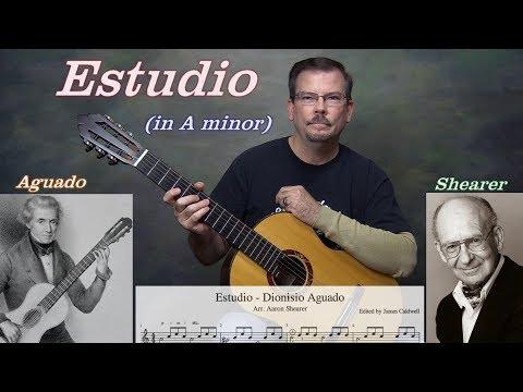 Essential Studies - Estudio, Dionisio Aguado (arr. Aaron Shearer)