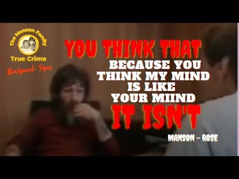 Charles Manson March 7, 1986 San Quentin Prison Interview (Emmy)