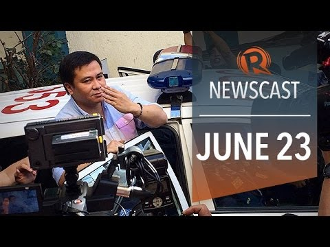 Rappler Newscast: Jinggoy in jail, influential jihadist in PH, Egypt sentences journos