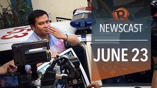 Rappler Newscast: Jinggoy in jail, influential jihadist in PH, Egypt sentences journos