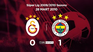 Galatasaray 0 - 1 Fenerbahçe Maç Özeti 28 Mart 2010