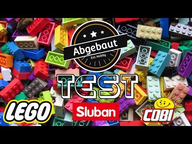LEGO / Sluban / Cobi der Test / Mitbringsel
