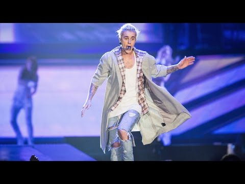 Justin Bieber's 'Purpose' Tour T-Shirts Have an Awkward Typo -- See The Mistake!