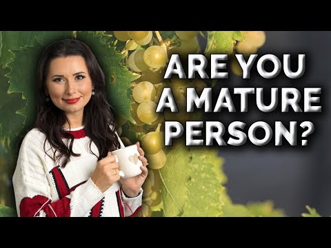 Test If You Are A Mature Person?
