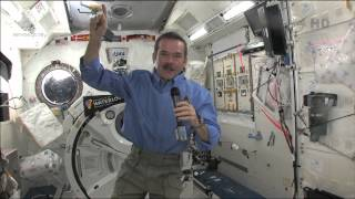 Chris Hadfield Speaks Live from Space with some 500 University of Waterloo Students