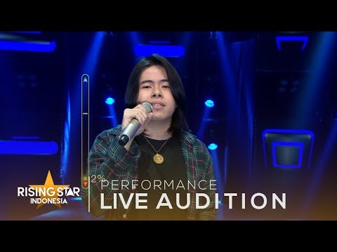Krishna Mukti   'Let It Be' | Live Audition 1 | Rising Star Indonesia 2018