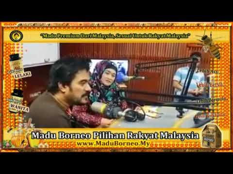Madu Borneo - Wawancara Di Stesyen Radio
