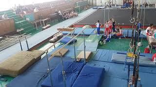 Спортивная гимнастика. 3 разряд. 28.04.18. Арефьев Егор(2)