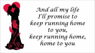 """""""Running Home To You by Grant Gustin"""" Lyrics Video"""