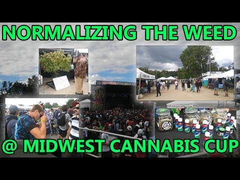 Normalizing the Weed @HighTimesMidWestCannabisCup - Which is 1 Mile from my House