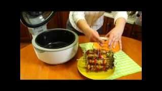 Видеорецепт: Шашлык в мультифункциональной печи Delimano 3D Air Fryer