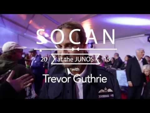 SOCAN Interviews @ Trevor Guthrie at the JUNOS 2015
