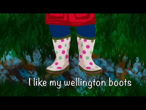 My Wellington Boots (It always rains) | Songs for Kids