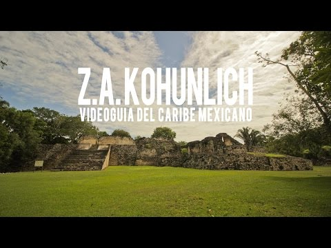 Kohunlich mayan ruins, nature tourism in Quintana Roo, Mexico | Mayan culture