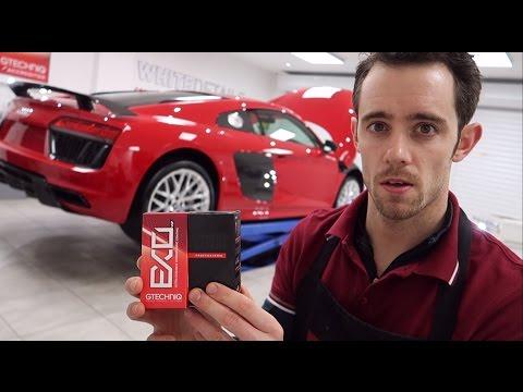 Audi R8 V10 Plus a trip into town  - VLOG 012