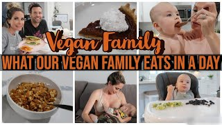 WHAT OUR VEGAN FAMILY EATS IN A DAY | CHANNON ROSE