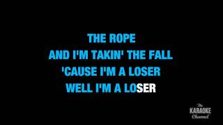 """Loser in the Style of """"3 Doors Down"""" karaoke video with lyrics (no lead vocal)"""