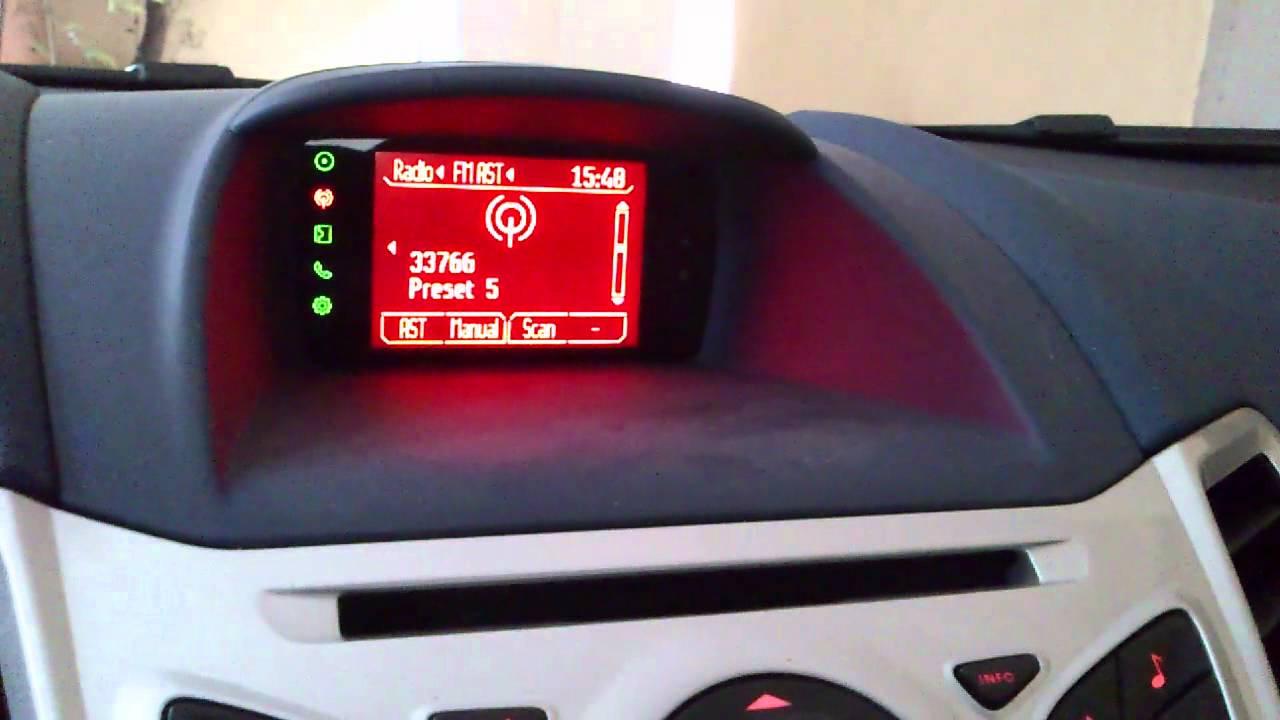 Ford Fiesta Mk7 Bluetooth Malfunction Youtube
