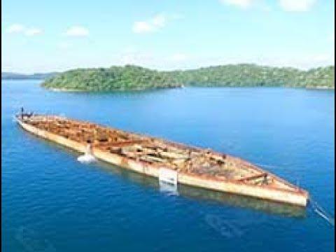 WW2 shipwreck refloated by Sri Lanka Navy (English)