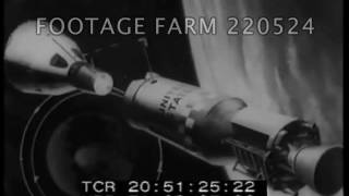 Gemini 10 Launch & Space Walk During Gemini 9 - 220524-35 | Footage Farm