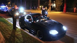 BEVERLY HILLS POLICE STATE REF THE SUPRA!