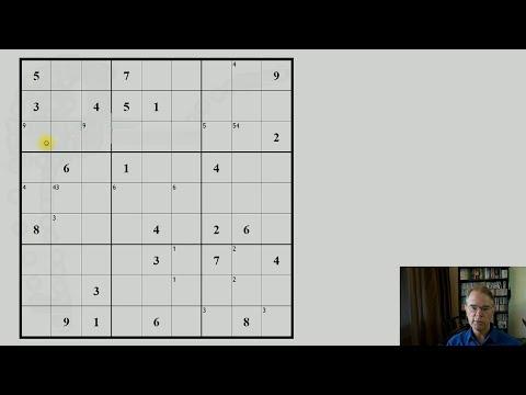 Hoe los je een moeilijke sudoku op? Deel 2: vierkanten, rijen en kolommen.