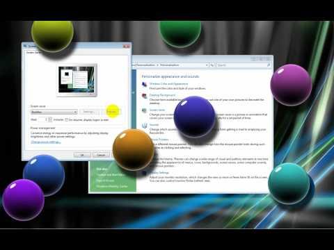 Make Vista Bubbles Screensaver Look Better