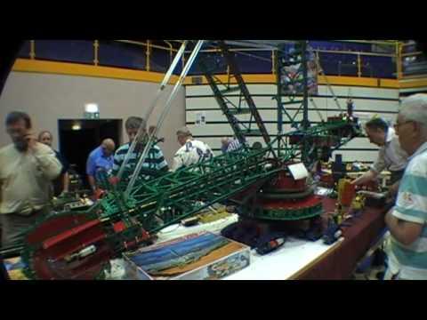 Meccano Bucket Wheel Excavator by Michel Breal