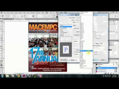 how to create crop marks in indesign