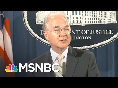 Tom Price Under Investigation For Charter Jet Scandal | All In | MSNBC