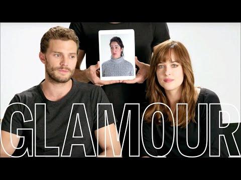 """Звезды """"50 оттенков серого"""" отвечают на вопросы читателей журнала Glamour"""