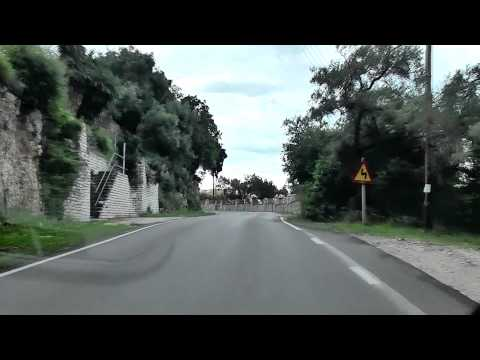 Corfu (Kerkyra) Airport to Kassiopi - Survival Drive - Part Two in HD.