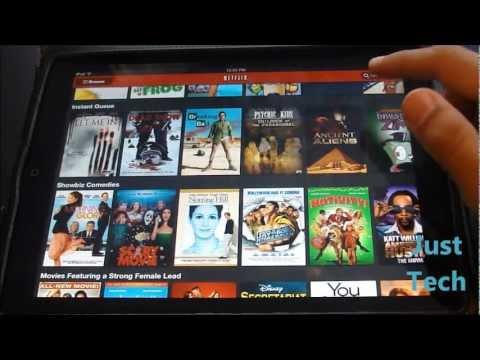 iOS App   Netflix for iPad