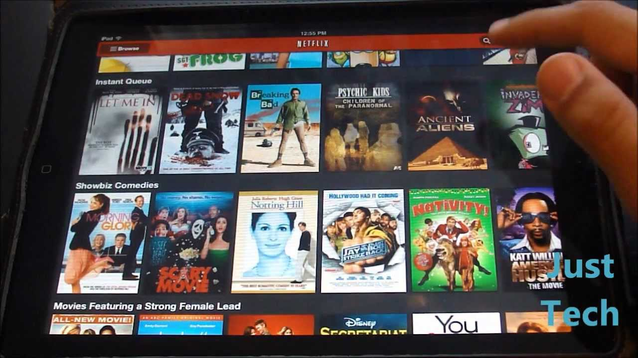 Ios App Review Netflix For Ipad Youtube