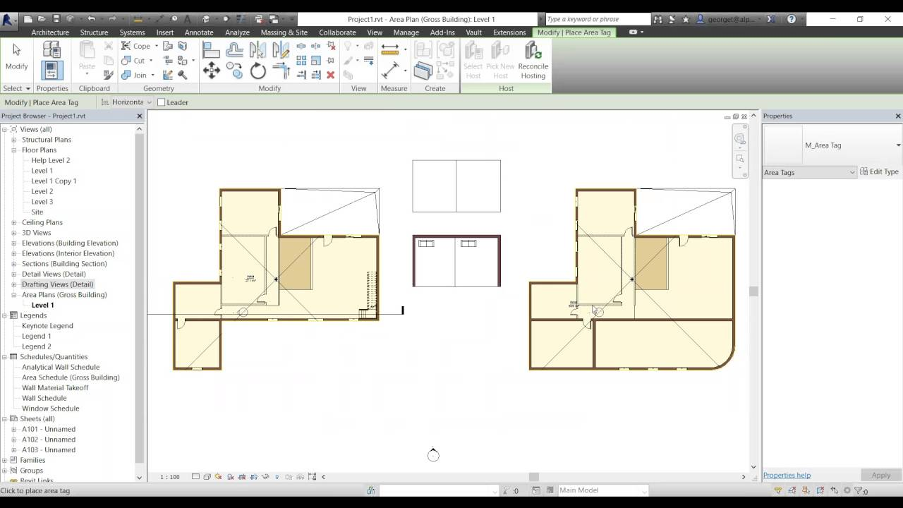 Revit 2016  Creating Gross Building Area Plans And Schedules