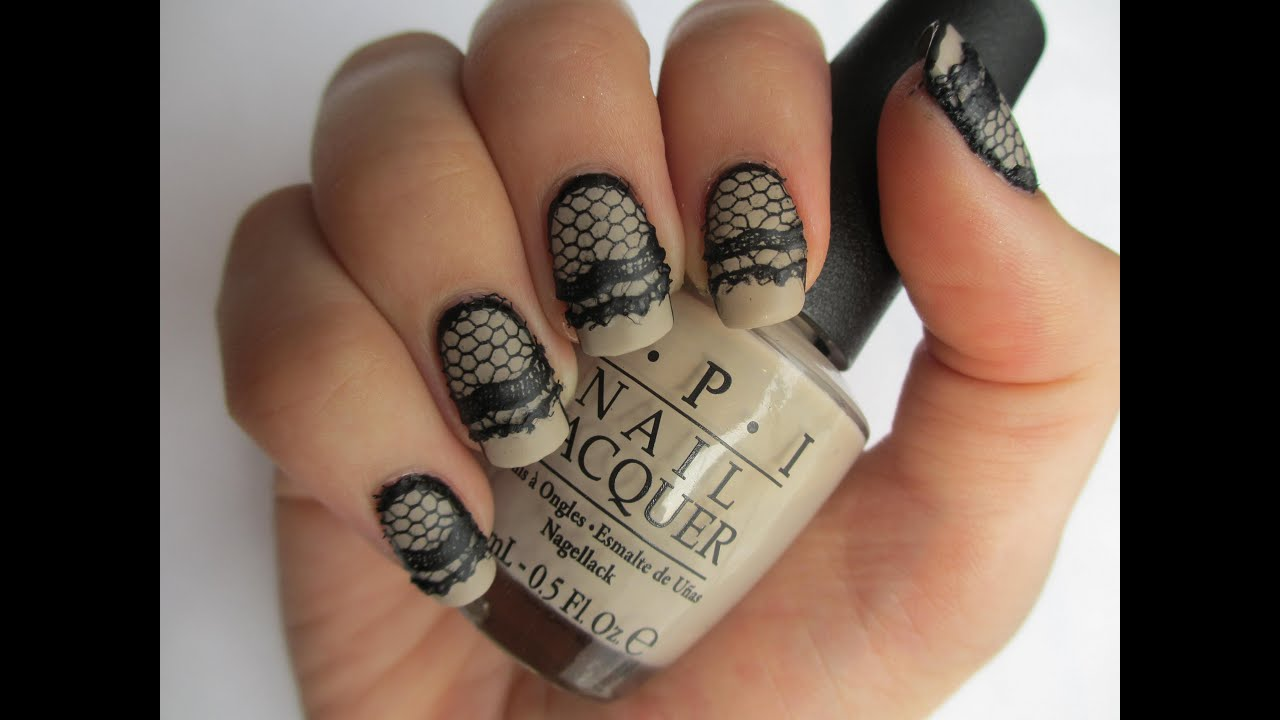 easy lace nails real
