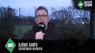 Ohne Kainz, aber mit Feuer: So lief das erste Werder-Training in Bremen 2019