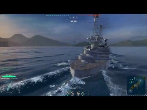 World of Warships Gameplay 18 0.5.2(South Carolina,Dresden,St. Louis)
