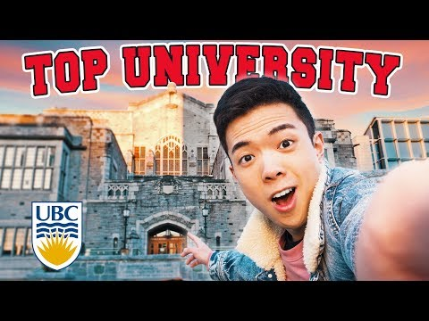 A Campus Tour Of TOP UNIVERSITY In Canada - UBC Campus Tour