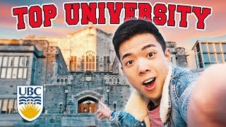 A Campus Tour of TOP UNIVERSITY in Canada - UBC Campus Tour